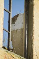 gammalt hus övergivet i Toscana foto