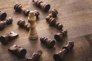 schack, den, bonde foto