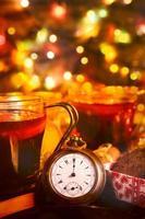 nyårs tid foto