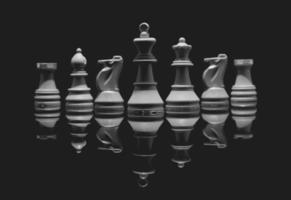 schackuppsättningar foto