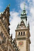 hamburg stadshus foto