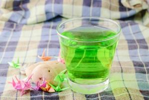 grön dryck foto