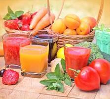 hälsosamma drycker - drycker foto