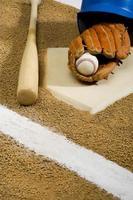 baseboll - utrustning foto