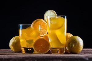färska läckra drycker