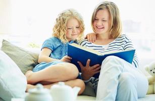 läsa hemma