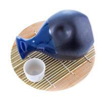 japansk skull dricka set foto