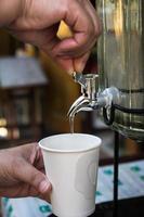 dricksvatten - lagerbild foto