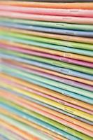 färgglada tidskrifter foto