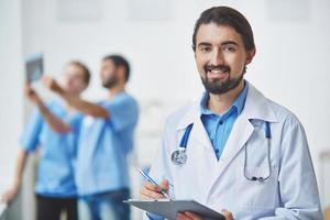 vänlig läkare foto