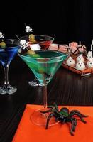 dryck på halloween foto
