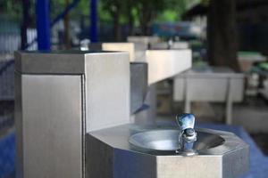 vatten fontän för att dricka foto