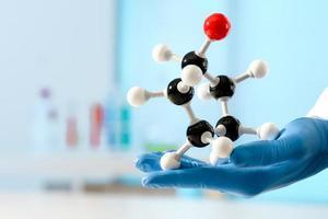 molekylär struktur foto