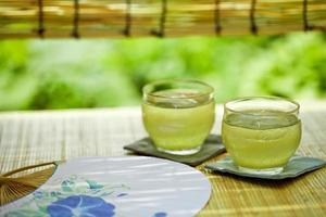 dryck av sommar i japan foto