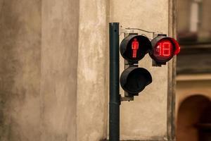 vuxna endast trafikljus metafor foto