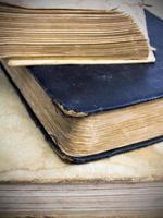gamla böcker foto