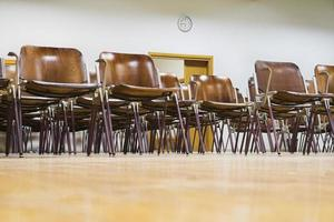 tomt klassrum foto