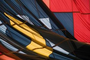 färgglada textilier foto