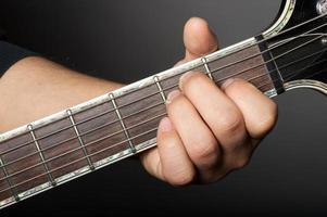 stora gitarr ackord foto