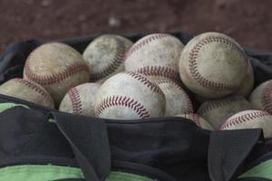 baseball - väska närmare foto