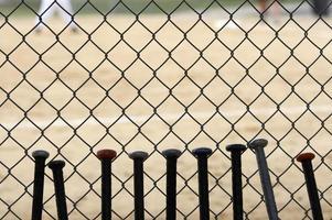 basebollspel foto