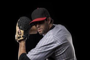 pitcher basebollspelare foto