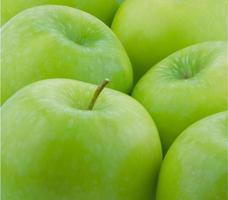 grönt äpple foto