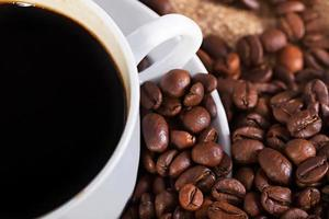kopp varmt kaffe foto