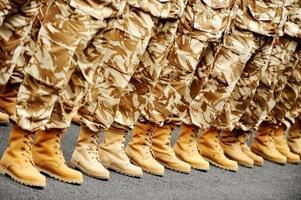 öken kamouflage uniform foto