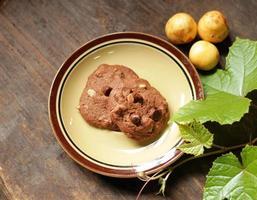 brownie cookies. foto