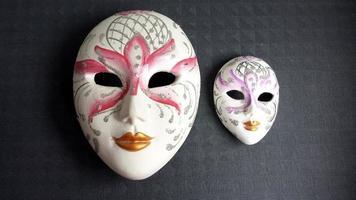 venetianska masker foto