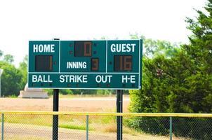 basebolltavla foto