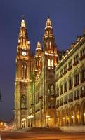 stadshus (Rathaus) i Wien. österrike foto