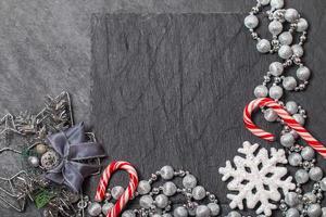 julstilleben med kopieringsutrymme foto