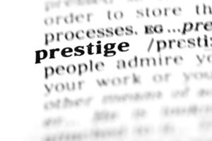 prestige (ordboksprojektet) foto