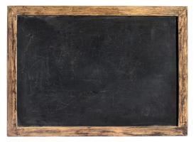 vintage svart tavla eller skiffer foto