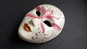venetiansk mask foto