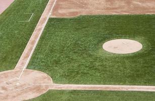 basebollfält. foto