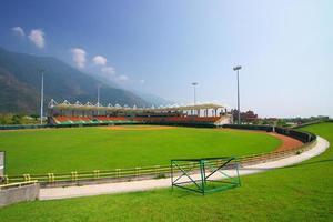 basebollfält foto