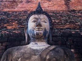 buddha från sukhothai foto