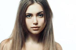 långt hår foto