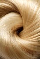 mänskligt hår foto