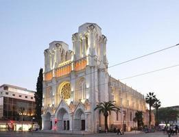 basilika av Notre-Dame de nice foto