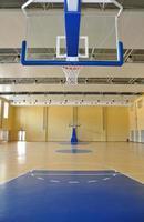 inomhus basketplan foto