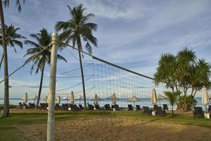 beachvolleybollnät foto