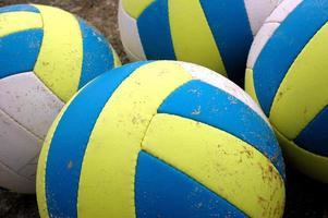 fyra beachvolleyboll foto