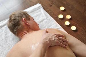 rygg massage foto
