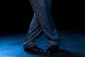 figur av tango foto
