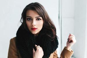foto av tjej med studioljus