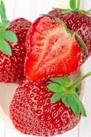 jordgubbar närbild foto